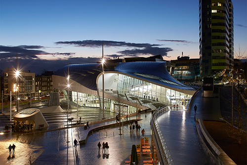 Unstudio completes 41 million terminal in the netherlands for New york based architecture firms
