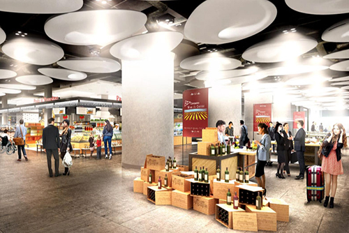 Grand Central New Food Court Cost